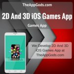2D And 3D iOS Games