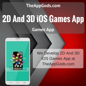 2D And 3D iOS Games App