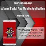 Alumni Portal App Mobile