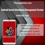 Android Based Attendance Management System