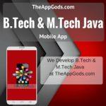 B.Tech & M.Tech  Java