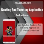 Booking And Ticketing