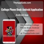 College Phone Book Android