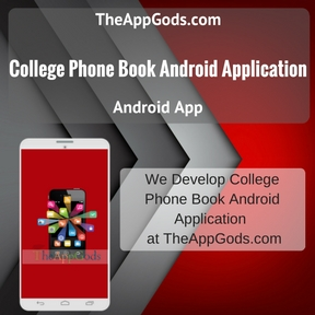 College Phone Book Android Application