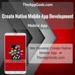 Create Native Mobile