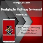 Developing For Mobile