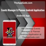 Events Manager & Planner Android