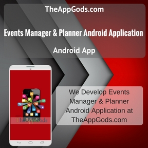 Events Manager & Planner Android Application