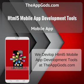 Html5 Mobile App Development Tools