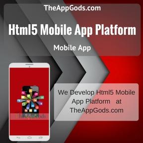 Html5 Mobile App Platform