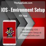IOS – Environment Setup