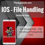 IOS – File Handling