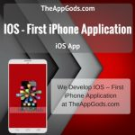 IOS – First iPhone