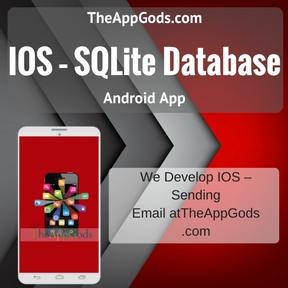 IOS – SQLite Database