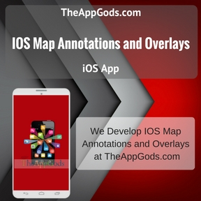 IOS Map Annotations and Overlays