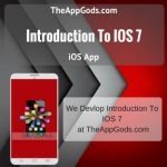 Introduction To IOS 7