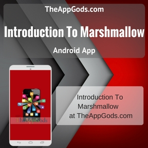 Introduction To Marshmallow