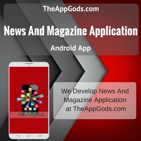 News And Magazine Application