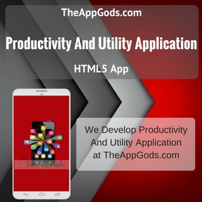 Productivity And Utility Application