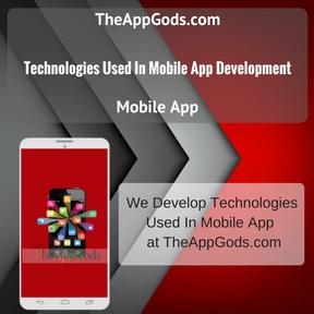 Technologies Used In Mobile App Development