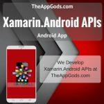 Xamarin.Android APIs