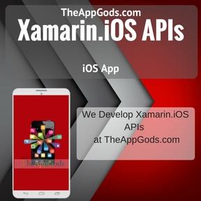 Xamarin.iOS APIs
